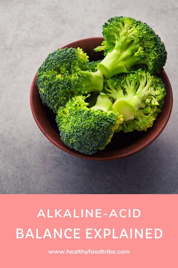 Alkaline acid balance explained