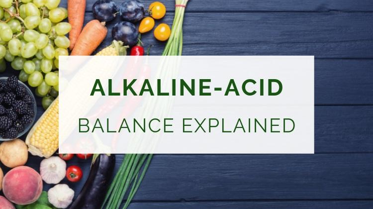 Alkaline-acid balance explained