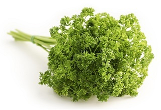 Parsley detox smoothie ingredients