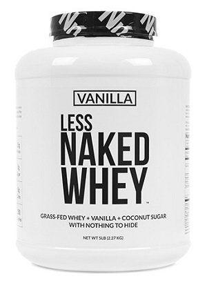 Grass Fed Vanilla Whey Protein from Naked Nutrition