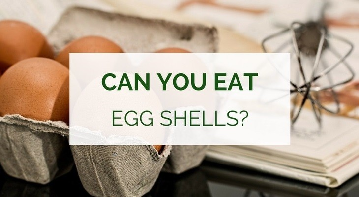 Can you eat egg shells for calcium