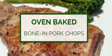 Oven-baked pork chops recipe instructions