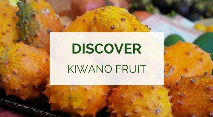 Health benefits of kiwano fruit. aka horned melon