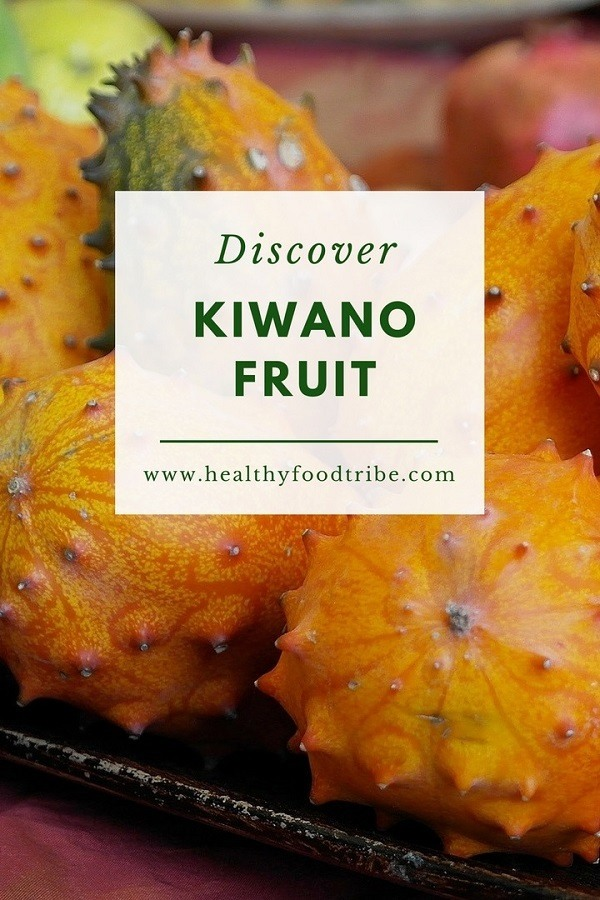 Kiwano fruit aka horned melon