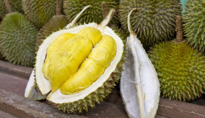 Durian weird fruit