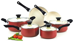 Best ceramic cookware set: Cook N Home 10p