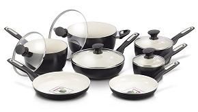 Best ceramic cookware set: GreenPan Rio 12p