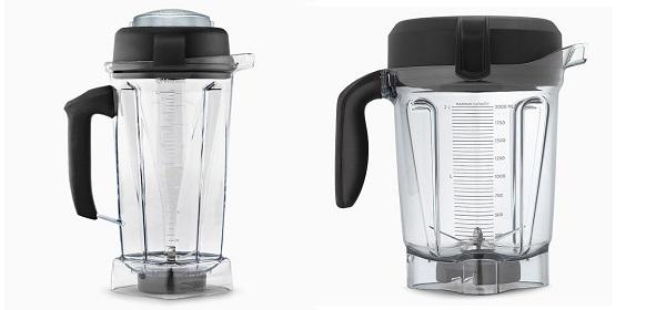 Vitamix classic vs low profile container