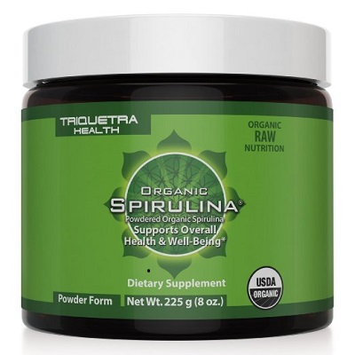Spirulina powder is a powerful vegan protein source