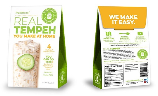 Tempeh is a strong vegan source of protein