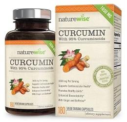 Best turmeric curcumin supplement: NatureWise