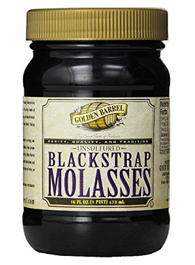 Magnesium rich food: blackstrap molasses