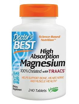 Best magnesium supplement: Doctor's Best
