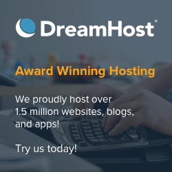 Start a food blog with DreamHost web hosting