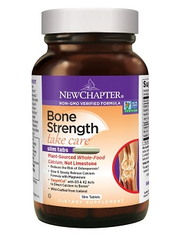 Best calcium supplement: New Chapter Bone Strength