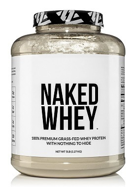 Best all natural whey protein powder: Naked Nutrition