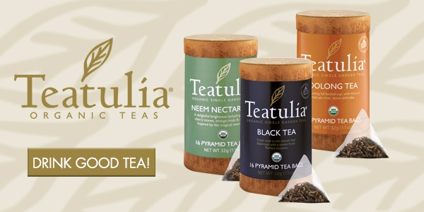 Organic white, green and black tea
