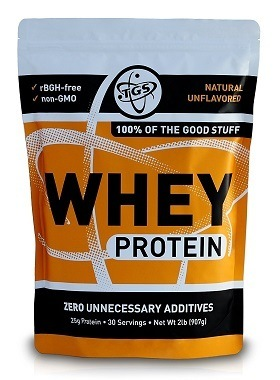 Best all natural whey protein powder: TGS 100% Whey