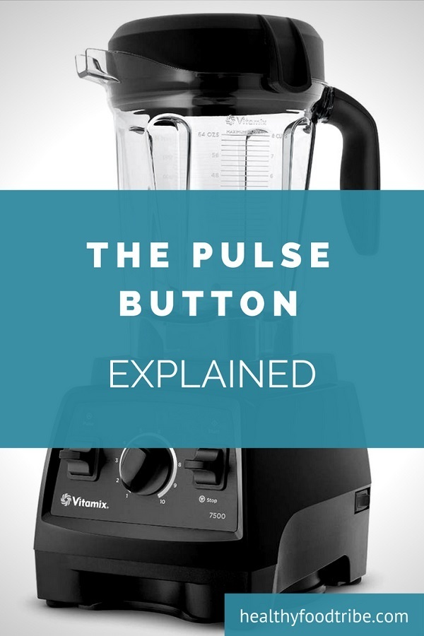 Blender pulse button explained