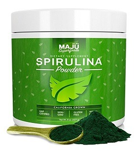 Best spirulina powder: Maju Superfoods