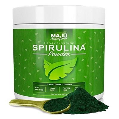Maju Superfoods spirulina powder