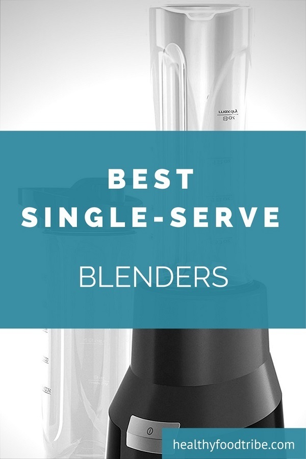 Portable single-serve blenders