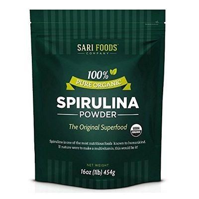 Sari Foods pure organic spirulina powder