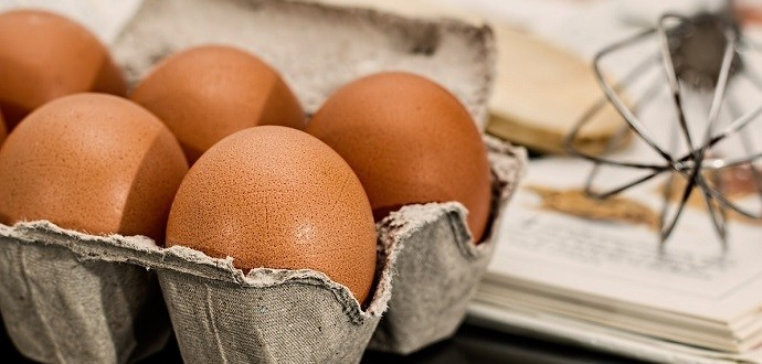 Eggs are a protein rich food