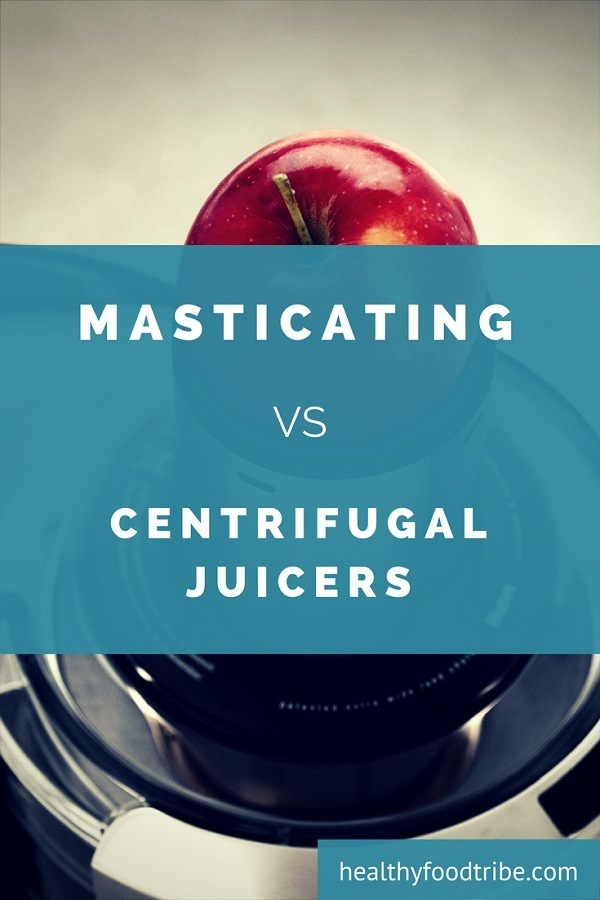 Masticating juicers