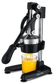 Best manual press juicer: Gourmia