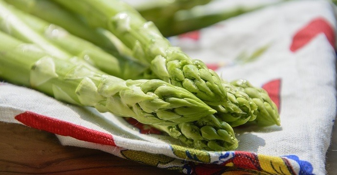 Asparagus is an energy boosting food