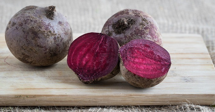 Beets are an energy boosting food