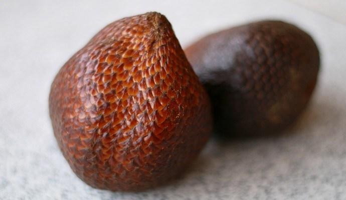 Salak fruit aka snake fruit
