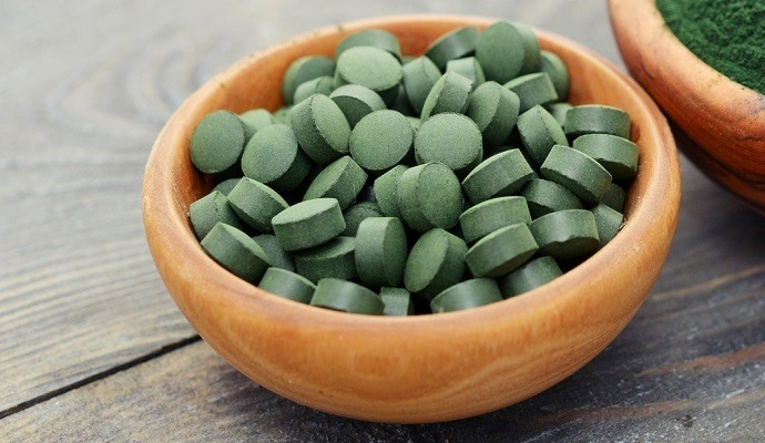 Spirulina supplement