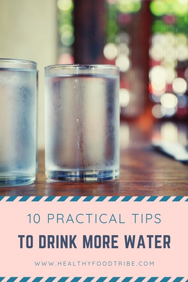 Tips to drink more water every day