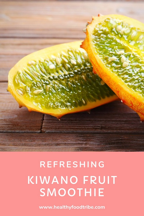 Refreshing kiwano melon smoothie recipe