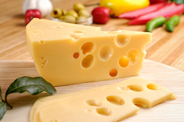 Cheese is an excellent source of whey protein