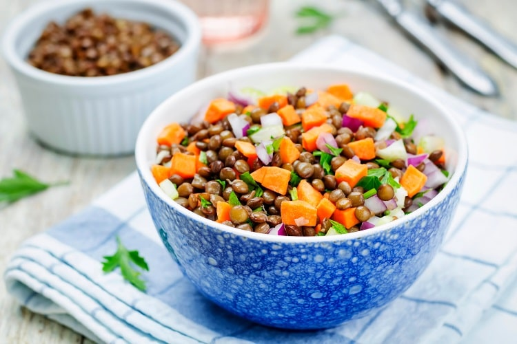 Lentils are protein rich