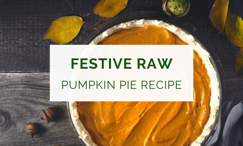 Raw pumpkin pie recipe