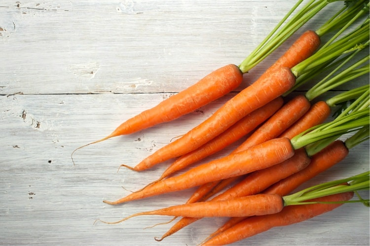 Carrots as a smoothie ingredient