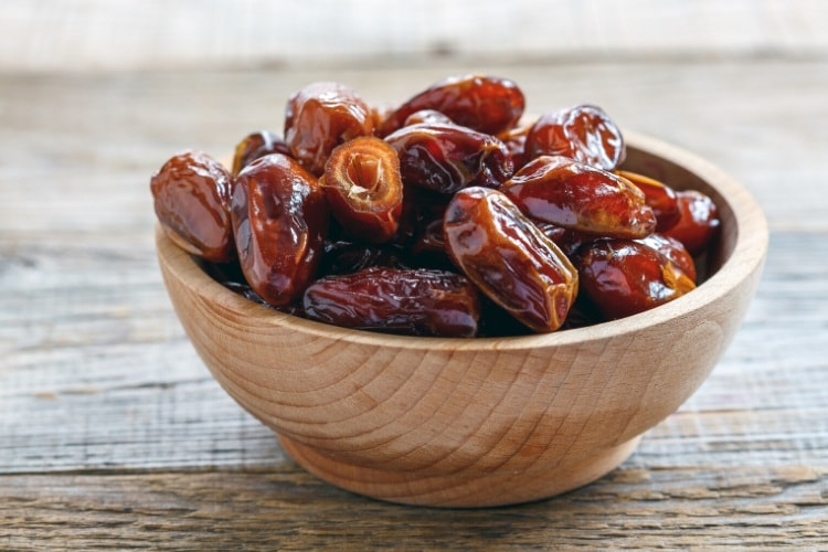 Dates are a great office snack