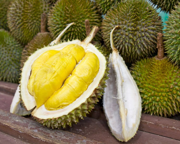 Durian is a unique fruit