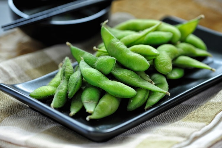 Edamame is a protein source