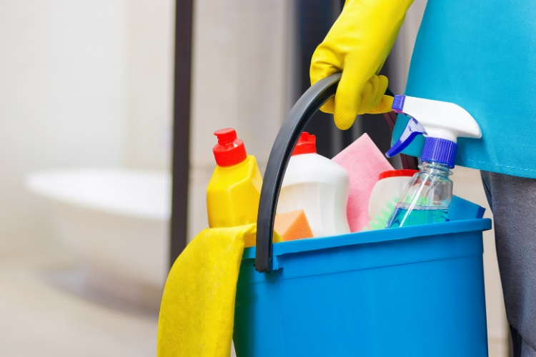 Denatured alcohol can be used for general house cleaning