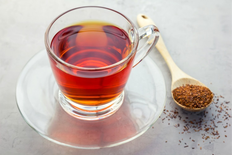 Herbal rooibos tea
