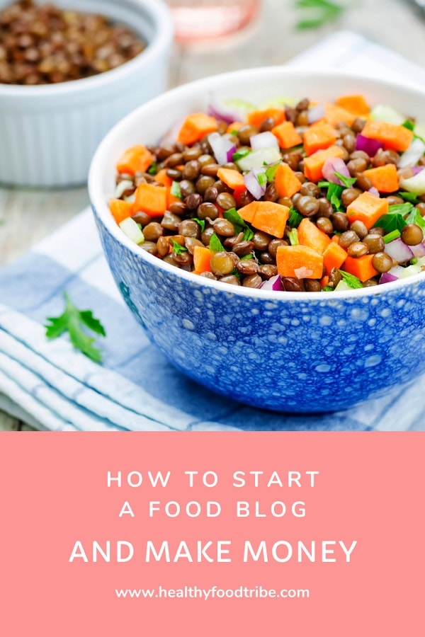 How to start a food blog (and make money)