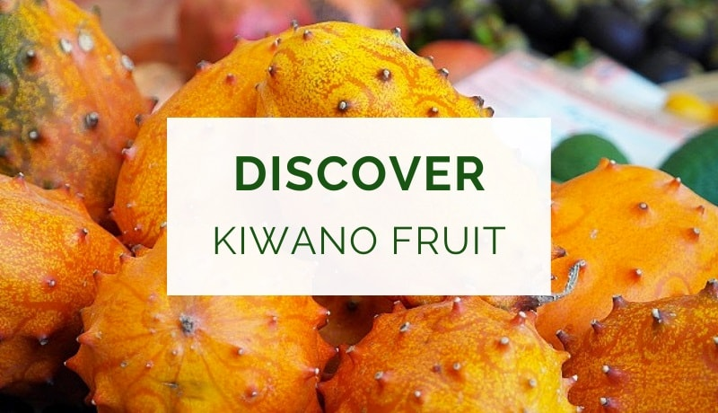 Health benefits of kiwano fruit (aka horned melon)