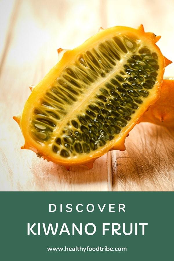 Health benefits of kiwano fruit (aka horned melon)