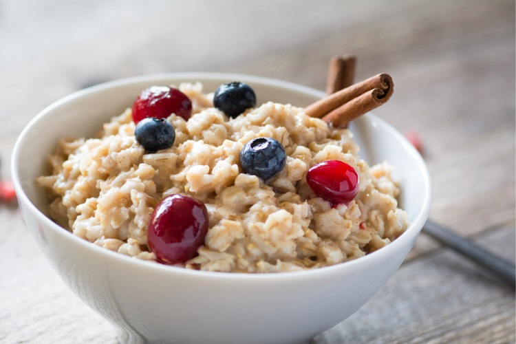 Oatmeal is a popular vegan protein source