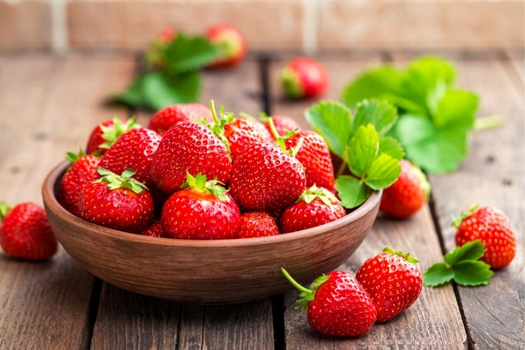 Strawberries as a smoothie ingredient